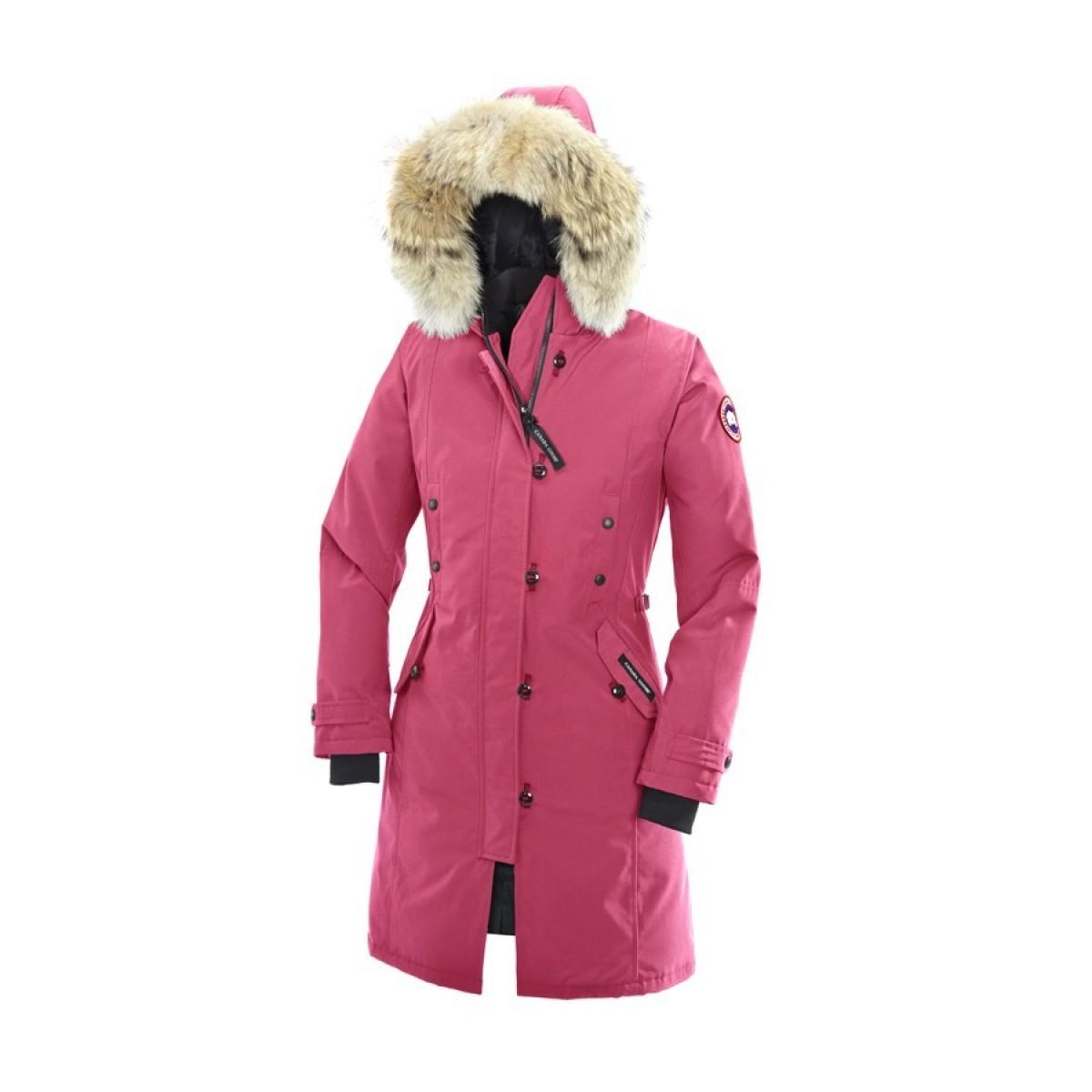 Canada Goose Kensington Parka Summit Pink Femme en Solde