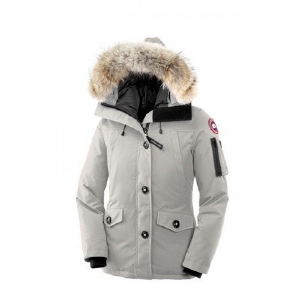 Canada Goose Montebello Parka Blanc Femme en Solde - Canada Goose ... f2f154a4a18