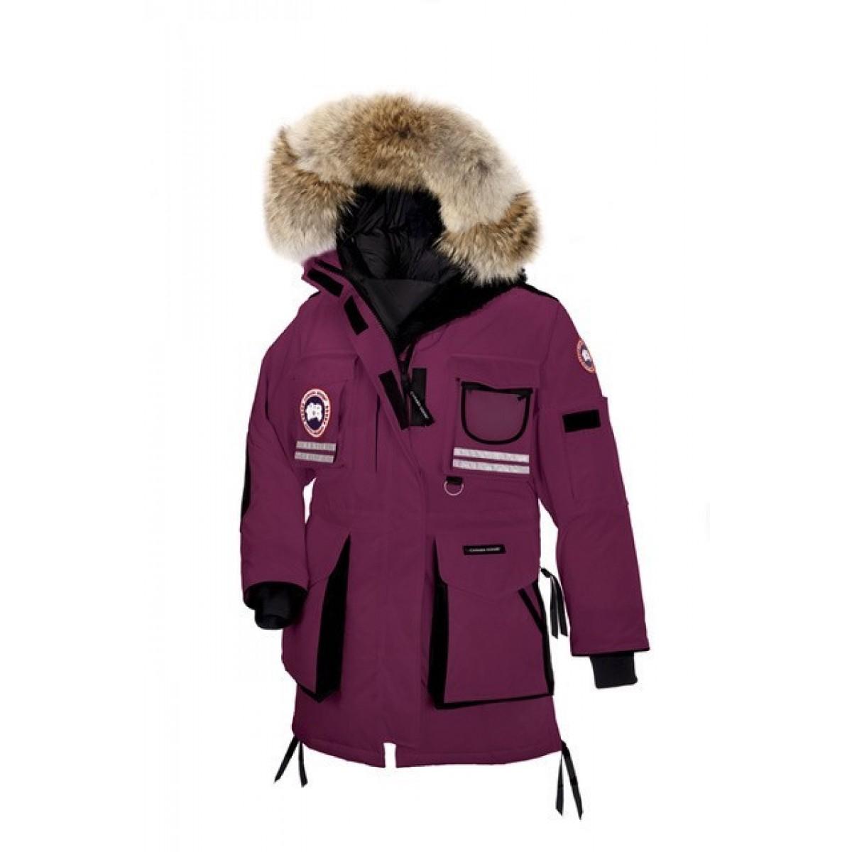 CANADA GOOSE SNOW MANTRA PARKA BERRY FEMME