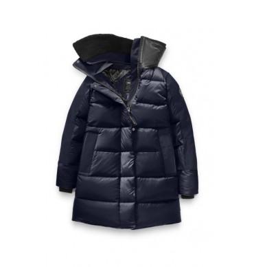 Canada Goose Femme Altona Parka Black Label - Style # 3207LB - Admiral Blue
