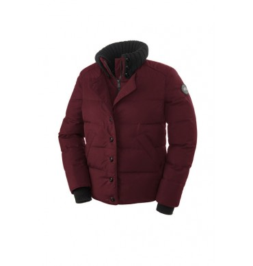 Canada Goose Brigette Jacket Black Label Femme 2559L - Bordeaux